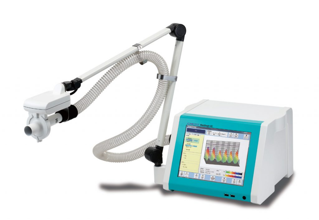 総合呼吸抵抗測定装置 モストグラフ